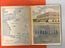 78 VERSAILLES : Livret De 62 Pages  La France Illustrée De ALPINA  Photographie De Jean ROUBIER (dimensions 17.5 X 12.5) - Géographie
