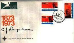 REPUBLIC OF SOUTH AFRICA, 1973, Langenhoven, First Day Cover Nr. 30 - South Africa (1961-...)