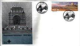 REPUBLIC OF SOUTH AFRICA, 1974, Voortrekkers Mem., First Day Cover Nr.2.2 - South Africa (1961-...)