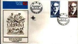 REPUBLIC OF SOUTH AFRICA, 1975, President Diederichs, First Day Cover Nr.2.4 - South Africa (1961-...)
