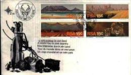 REPUBLIC OF SOUTH AFRICA, 1975, Tourism, First Day Cover Nr.2.10 - South Africa (1961-...)