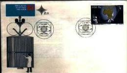 REPUBLIC OF SOUTH AFRICA, 1975, Satelite Communication, First Day Cover Nr.2.11 - South Africa (1961-...)