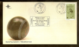 REPUBLIC OF SOUTH AFRICA, 1976, Bowling Champions, First Day Cover Nr.2.12 - South Africa (1961-...)