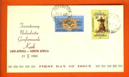 REPUBLIC OF SOUTH AFRICA, 1966, Reformed Church, First Day Cover Nr.2 - South Africa (1961-...)