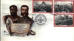 REPUBLIC OF SOUTH AFRICA, 1979, Zulu War, First Day Cover Nr.3.14 - South Africa (1961-...)