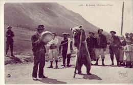 Métier; Animaux  En Savoie   Montreur D'Ours   Tziganes, Chasseurs Alpin - Mestieri