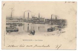 MONTLUÇON (ALLIER) - Les Usines - Animée - Année 1901 - Montlucon