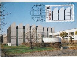 Architecture - Musées - Allemagne - République Fédérale - Carte Maximum De 1983
