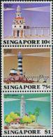 MY0307 Singapore 1982 Lighthouse 3v MNH - Singapore (1959-...)