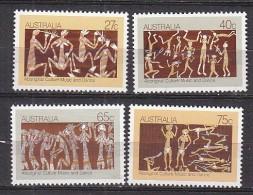 PGL X712 - AUSTRALIE Yv N°797/800 ** - 1980-89 Elizabeth II