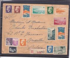 Port - Radio - Fontaine - Monaco - Lettre Recommandée De 1957 ° - Monaco