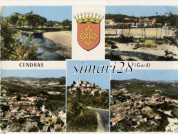 CENDRAS - N° 1 C  (CPSM) - Autres Communes