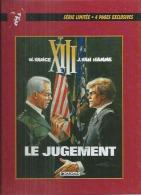 "XIII  "" LE JUGEMENT ""   -  VANCE / VAN HAMME   - E.O.   FEVRIER 1998  DARGAUD  ( + HISTOIRE D'UNE PAGE )) - XIII"