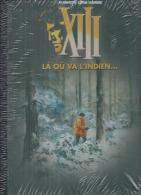 "XIII  "" LA OU VA L'INDIEN... ""   -  VANCE / VAN HAMME   - E.O.  2010  DARGAUD  ( NEUF Sous Blister  Toilée NOIR) - XIII"