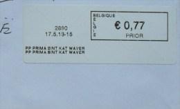 België 2013 PP Prima Sint Kat Waver 2860 - Vignettes D'affranchissement
