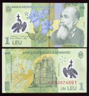 ROMANIA : 1 Leu - 2005 - Polymer - UNC - Roumanie