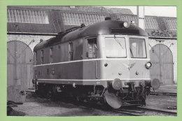 MARIBO, Ile De LOLLAND : Locomotive 31 Frichs 1952. Lollandsbanen. Gare. Photo - Trains