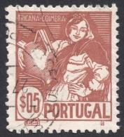 Portugal, 5 C. 1941, Sc # 606, Mi # 633, Used - 1910-... Republic
