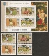 INFANCIA - BURUNDI 1979 - Yvert #811/14+H106A - MNH ** - Infancia & Juventud