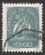 Portugal, 10 E. 1943, Sc # 628, Mi # 659, Used - 1910-... Republic