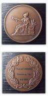 MEDAILLE En Bronze Ville De CADOURS Concours De L´ail 6.9.89 - France