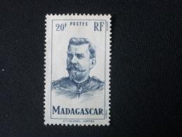 "MADAGASCAR  ( O )  De  1946   ""  Lieutenant - Colonel  JOFFRE      ""     N° 317       1 Val . - Used Stamps"