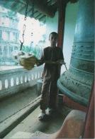 CPA 1332 CPM VIETNAM Famous Scenic Spots Site Renommé Thang Canh Cloche Pagode Thien Mu Bell-ring Sinh Hoat Moine Enfant - Viêt-Nam