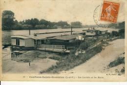 Conflans-Sainte-Honorine  Les Lavoirs Et Les Bains  Cpa - Conflans Saint Honorine