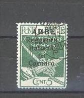 ARBE 1920 5 C. USATO - Arbe & Veglia