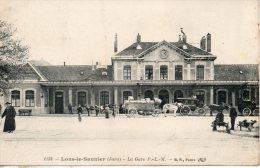 39. Lons Le Saunier. La Gare Plm - Lons Le Saunier