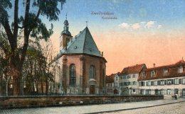 CP-Allemagne-Zweibrücken   Karlskirche ( Carte écrite En 1919) - Zweibruecken