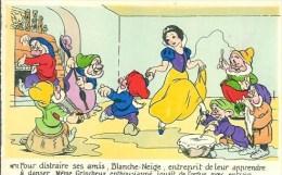 WALT-DISNEY  Blanche Neige Et Les 7 Nains  N°11 - Disney