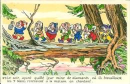 WALT-DISNEY  Blanche Neige Et Les 7 Nains  N°5 - Disney