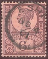 Grossbritanien 1887 Mi#94 Vollstempel ESHe 1901-11-04 - 1840-1901 (Regina Victoria)