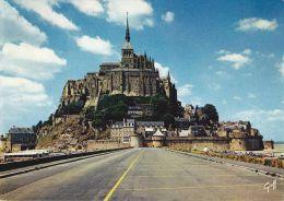 Cp , 50 , LE MONT-SAINT-MICHEL , Abbaye - Le Mont Saint Michel