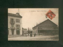 Annemasse (74) - Rue Du Mont Blanc ( Animée Commerce A. Ligue Denrées Coloniales Dupraz Tailleur Ed. Richard Libraire ) - Annemasse
