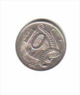 AUSTRALIA    10  CENTS  1989  (KM # 81) - Decimal Coinage (1966-...)