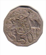 AUSTRALIA    50  CENTS  1974  (KM # 68) - 50 Cents