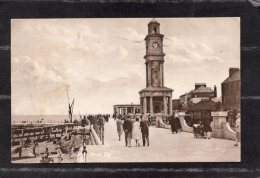 40085   Regno  Unito,   The  Clock  Tower  And  Shelter  -  Herne  Bay,  VG  1930 - Canterbury