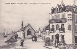 CONCARNEAU Hôtel De La Plage Maison CARADEC Place De La Croix - Concarneau