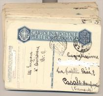 4272-LOTTICINO DI N.26 FRANCHIGIE-P.M. 104-111° BATTAGLIONE C.C. N.N.-1936 - Marcofilía