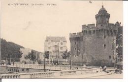 Le Castillet -Vu De Coté - Perpignan