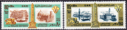 Egypt 1967 Yvert 709-710, Save The Monuments Of Florence And Venice, MNH - Egypt