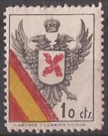 RQT2-LM081TAN.Espagne.Spain.España.Escudo.Requetes.Bandera.1936/8.(Galvez 2**) En Nuevo. - 1931-50 Ungebraucht