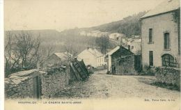 Houffalize - Le Chemin Sainte-Anne - 1908  ( Voir Verso ) - Houffalize