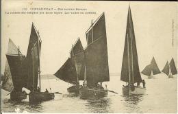 CPA  CONCARNEAU, Rentrée Des Barques  8027 - Concarneau