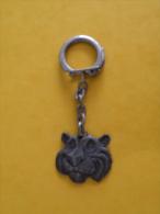Porte Clef (Année 50/60) Le Tigre Esso - Métal (Occasion 2 Photos) - Key-rings