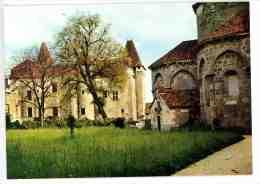 Saint Jean De Côle :le Château Et L'abside De L'église - N°911 - France