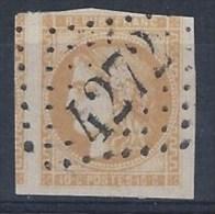 France, GC 4272 De Villers Bretonneux (76) Sur N° 43 Défectueux - Marcophilie (Timbres Détachés)