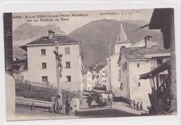 St. Luc (VS) Hotel Weisshorn, Lichtdruck, 1913   ***26533 - VS Wallis